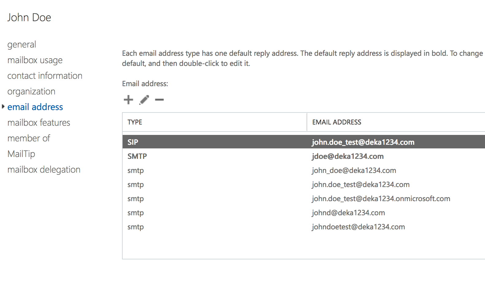 How to map proxy addresses from user's application profile